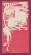 180118A Programme Vierge CORRIDA TAUROMACHIE TAUREAU SPAIN ESPAGNE 1914 Torero Illustration Art Nouveau Gaufré - Programmi