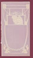 180118A Programme Vierge Années 1910 Illustration Art Nouveau Gaufré  -  ? IMP Y LIT J ORTEGA VALENCIA ? - Programmi