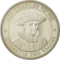 France, Medal, Royal, Charles VII, History, Dynastie Des Valois, SPL+, Nickel - France