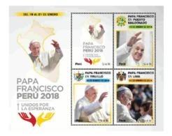 Peru 2018 Pope Francis Visit, Visita Papa Francesco Francisco. Papstbesuch - Popes
