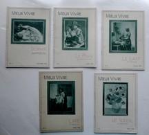 Lot 7 Revues Mensuelles  MIEUX VIVRE  - Années1938/39 - Offerts Formule Jacquemaire N°60 - Pharmacien Bonthoux - 1900 - 1949