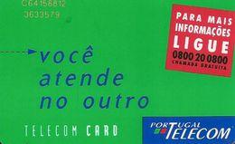 CARTEà-PUCE-PORTUGAL-50-SC7-1996-INFORMATIONS LIGUE -UTILISE-TBE- - Portugal