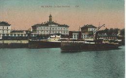 Ols Ships In Port.  Calais - La Gare Maritime.  France.  S-4148 - Ships