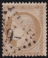 France    ,     Yvert    .     59        .         O           .              Oblitéré - 1871-1875 Ceres