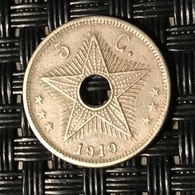 5 Centimes Congo-Belge 1919 - Congo (Belgian) & Ruanda-Urundi