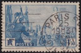 France    ,     Yvert    .     328          .         O           .              Oblitéré - Frankrijk