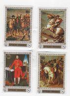 Napoléon Série De Quatre Timbres - République Rwandaise - Napoleon