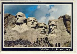 MOUNT RUSHMORE SHRINE OF DEMOCRACY SCULPTURE OF FOUR GREAT PRESIDENTS - Mount Rushmore