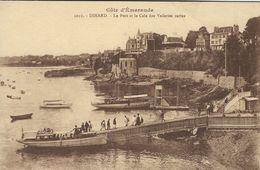 Old Boats - Dinard. Le Port Et La Caledes Vedettes Vertes.    France.  S-4152 - Ships