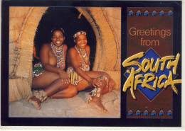 SOUTH AFRICA KWAZULU NATAL ZULU WOMAN TRIBAL LIFE  NICE STAMP - Sud Africa