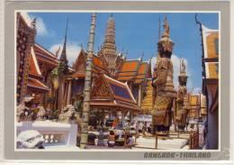 BANGKOK THAILAND PART OF WAT PHRA KEO TEMPLE OF EMERALD BUDHA   NICE STAMP - Thailand