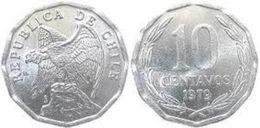 Chile 10 Centavos 1979 UNC KM# 205a - Chile