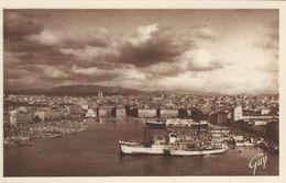 Cargo Ships In Port. Marseille.     France.  S-4156 - Cargos