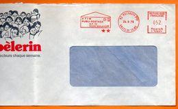 92 MALAKOFF  PLUBI POSTAGE 1979  ( Pliure )  Lettre Entière 110x220 N° EMA 3961 - Freistempel