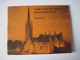 CPM 35 Guide Visite De L'enclos Paroissial De SIZUN   T.B.E. Petit Guide - Dépliants Turistici