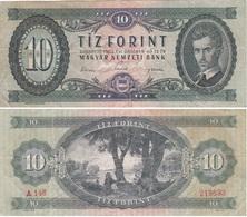 Hungary - 10 Forint 1962 F/VF- Lemberg-Zp - Hongrie