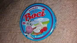 Cheese Queso Kase Label Etikette Etiqueta Hungary Mizo Boci Kuh Cow Sonka Schinken Ham Jamon Calcium BOX - Quesos