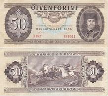 Hungary - 50 Forint 1989 VF+ Serie D262 Lemberg-Zp - Hungary