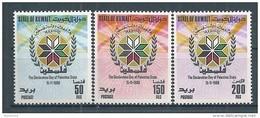 Kuwait - 1989 -  Série Journée De La Déclaration De L'Etat Palestinien  - N/O - Kuwait
