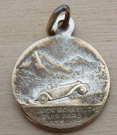 Med-2638 Médaille Anagramme JB, St Christophe - Religion & Esotérisme
