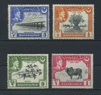 BAHAWALPUR    1949    Silver  Jubilee    Set  Of  4    MH - Pakistan