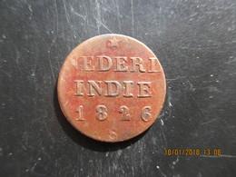 Pays Bas, 1/4 Stuiver 1826 Niederl. Indie, TTB - [ 4] Colonies