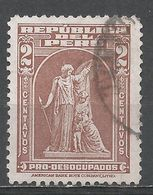 Peru 1938. Scott #RA29 (U) ''Protection'' By John Q. A. Ward - Pérou