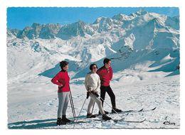 74 – FLAINE : Porte Du Désert Blanc – Panorama Sur Le Massif Du Mont-Blanc Depuis Les Grandes Platières N° E Cl 52 - Francia
