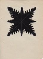 Orig. Scherenschnitt - 1948 (32601) - Chinese Paper Cut