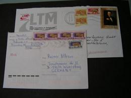 Briefe Lot  2 Beleg Russland Belarus - Belarus