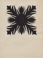 Orig. Scherenschnitt - 1948 (32603) - Chinese Paper Cut