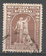 Peru 1943. Scott #RA30 (U) ''Protection'' By John Q. A. Ward - Pérou