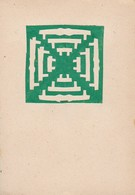 Orig. Scherenschnitt - 1948 (32605) - Chinese Paper Cut