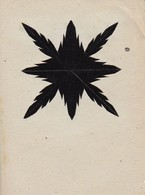 Orig. Scherenschnitt - 1948 (32606) - Chinese Paper Cut