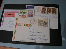 Afrika Tof 3 Alte Briefe - Togo (1960-...)