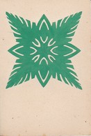 Orig. Scherenschnitt - 1948 (32614) - Papier Chinois