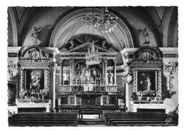 74 – LES HOUCHES – MONT-BLANC : Intérieur De L'église N° 151 - Les Houches