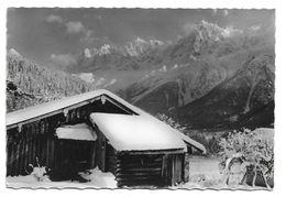 74 – LES HOUCHES : Chalet Aux Chavants Vue Sur La Chaine Du Mont-Blancet L'aiguille Du Midi N° 6 - Les Houches