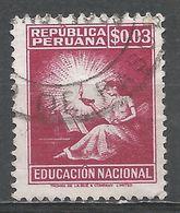 Peru 1950. Scott #RA33 (U) Symbolical Of Education - Pérou