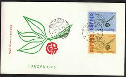 Italy Trieste 1965 / Europa CEPT / FDC - Europa-CEPT