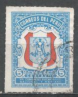 Peru 1954. Scott #RA36 (U) Emblem Of Congress - Pérou