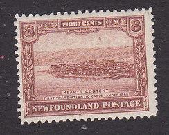 Newfoundland, Scott #151, Mint Hinged, Heart's Content, Issued 1928 - Newfoundland