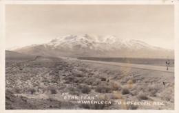 Nevada Star Peak Winnemucca To Lovelock Real Photo