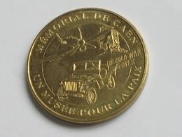 Médaille De La Monnaie De Paris - MEMORIAL DE CAEN - UN MUSEE POUR LA PAIX -  2007    **** EN ACHAT IMMEDIAT  **** - Monnaie De Paris