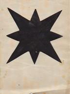 Orig. Scherenschnitt - 1948 (32625) - Chinese Paper Cut