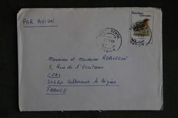 Lettre Du GABON ( PORT GENTIL) Vers FRANCE - Gabon (1960-...)