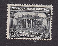 Newfoundland, Scott #157, Mint Hinged, Colonial Building, St John's, Issued 1928 - Terre-Neuve