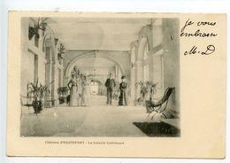 Château D'Hautefort La Galerie Intérieure - France