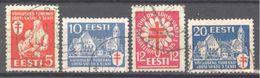 Estonie: Yvert N° 125/128° - Estland