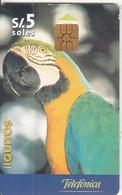 PERU - Parrot, 04/99, Used - Pappagalli